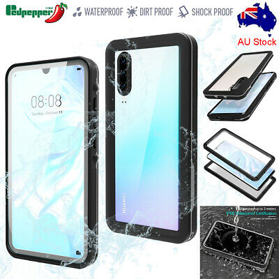For Huawei P30 / P30 Pro Waterproof Case Shockproof Heavy Duty Underwater Cover