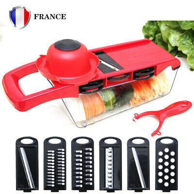 Mandoline Coupe Legumes Fruits Decorations Rape Hachoir Slicer Cadeaux Cuisine L