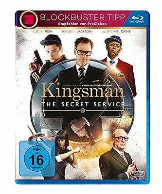 Kingsman - The Secret Service   2014   Colin Firth, Michael Caine   Blu-ray
