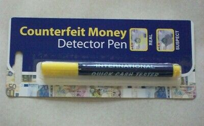 Money Tester Pen Counterfeit Bank Note Detector Pens brand new sealed free ukp&p