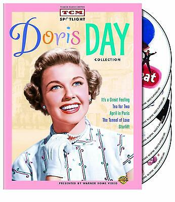 Tcm Spotlight Doris Day Collection,  Ray Bolger Randolph Scott 5 Films Box Set