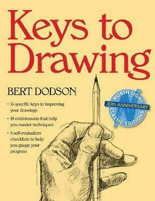 Keys to Drawing by Bert Dodson (English) Paperback Book Free Shipping!