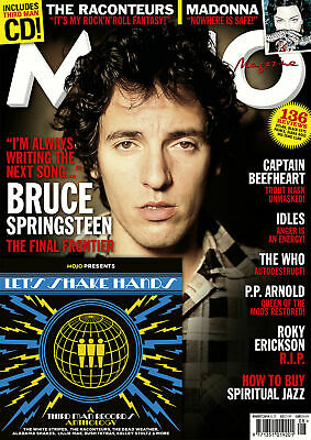 Mojo Magazine - Issue 309 - August 2019 - Bruce Springsteen, Madonna, Raconteurs