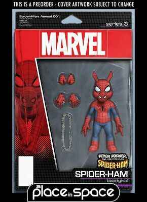 (Wk26) Spider-Man Annual #1B - Action Figure Variant - Preorder 26Th June