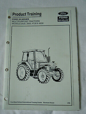 NEW HOLLAND FORD 3230 3430 3930 4630 4830 5030 Service Manual Repair on