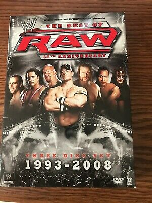 PRE-OWNED 3-DVD SET - Best Of Wwe Raw 15Th Anniversary
