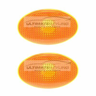 Ford Mondeo Mk1 1993-1996 Amber Side Indicator Repeaters Pair Left & Right