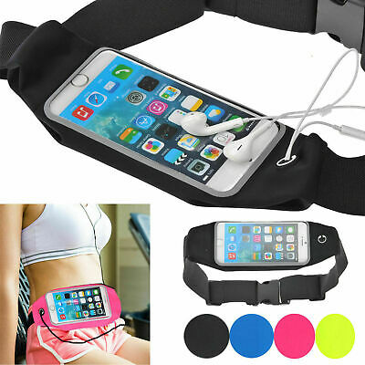 Smartphone Running Sports Waist Belt Pocket Travel Gym iPhone Samsung Upto 5.5''
