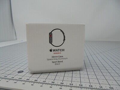 Genuine Apple Watch BOX ONLY - Series 3 Cellular - 38mm - Space Gray - S3C2