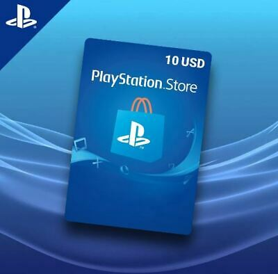 PlayStation Network Gift Card 10 USD PSN UNITED STATE