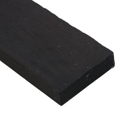 New Black Ebony Wood DIY Lumber Blank Woodwork Furnitures Cabinet Length Useful
