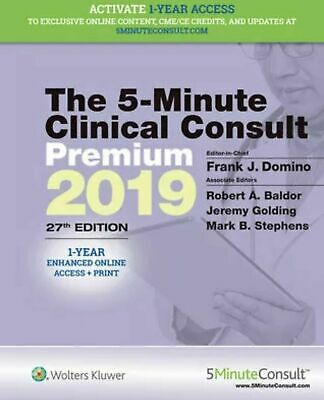 The 5 Minute Clinical Consult Premium 2019 27th Edition [PƉF]