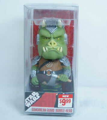 Star Wars Gamorrean Guard Funko Wacky Wobbler Bobble Head Sealed 2007 Size 7""