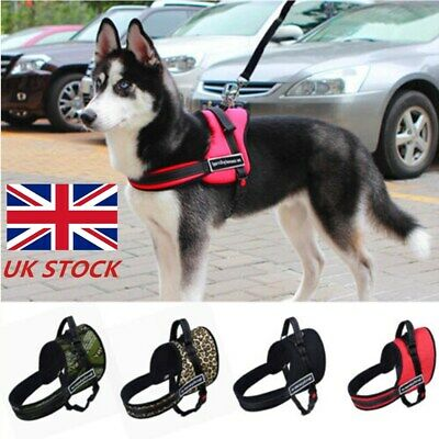 No-Pull Dog Harness Outdoor Adventure Pet Vest Padded Handle Small-Extra Large