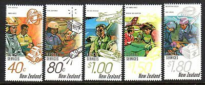 1996 NEW ZEALAND RESCUE SERVICES SG1979-1983 mint unhinged