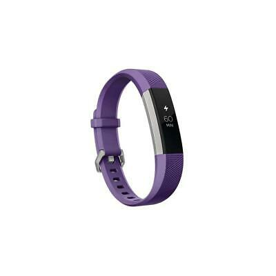 Fitbit ace activity tracker for kids, 8+, power purple/stainless steel