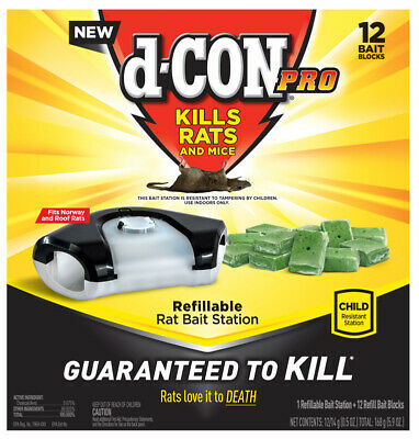 D-Con  For Mice/Rats Pest Control