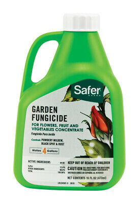 Safer Brand  Organic Concentrated Liquid  Garden Fungicide  16 oz.