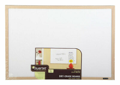Dry Erase Board with Oak Frame, 17 x 23-In.
