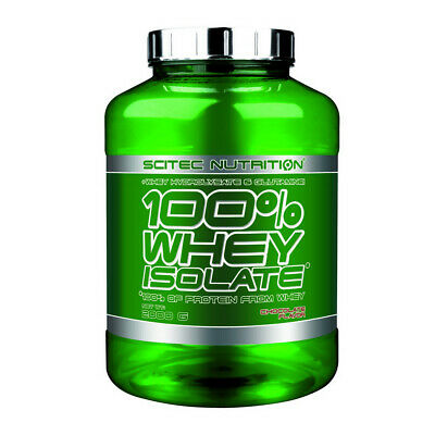 Scitec Nutrition 100% Whey Isolate - Cioccolato (2000 gr)