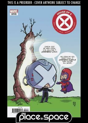 (Wk30) House Of X #1E - Skottie Young Variant - Preorder 24Th Jul