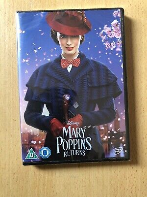 disney mary poppins Return DVD New And Sealed (2019)