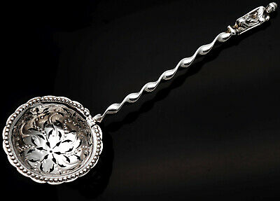 Sterling Silver Sifting Ladle - London 1878 - Antique
