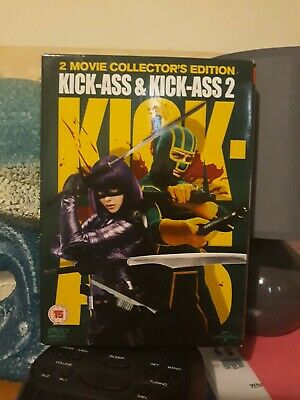 Kick Ass And Kick Ass 2 Box Set With Chloe Grace Moretz  New Condition