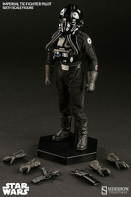 Sideshow: Star Wars- Imperial Tie Fighter 1/6th Scale Figure