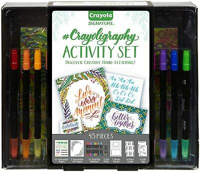 Crayola Signature Crayoligraphy Activity Set -04-0346