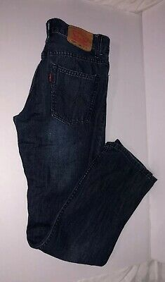 Mens Boys Levis 514 14 Reg 27X27 Slim Fit Straight Leg  Measured 26X27.5  557-1