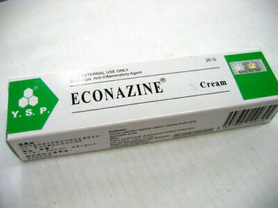 1 Pack ECONAZINE Cream for Skin Allergies, Fungal Infection, Ringworm 20g sk