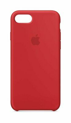Authentique Apple Coque Silicone pour IPHONE 7/8 Plus Rouge Mqh12zm/A