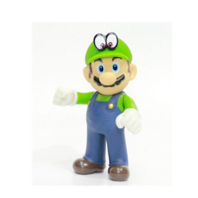 Super mario bros brothers odyssey green action figure 12cm NEW birthday gift