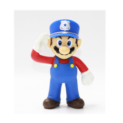 Super mario bros brothers odyssey police action figure 12cm NEW birthday gift