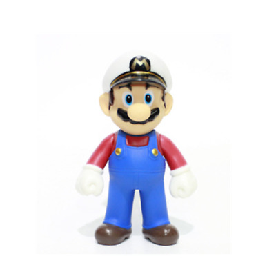 Super mario bros brothers odyssey navy action figure 12cm NEW birthday gift