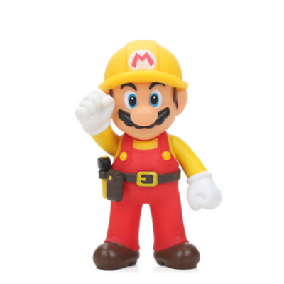 Super mario bros brothers odyssey firefighter B action figure 12cm NEW birthday