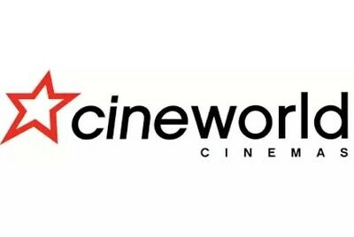 CINEWORLD Cinema ticket to a 2D film - SUNDAY ONLY - Code Emailed Immediately