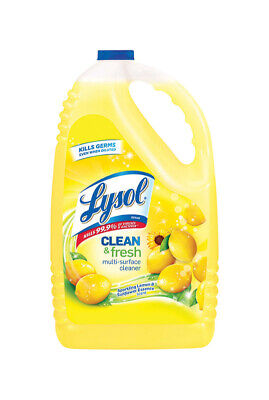Lysol  Lemon Scent All Purpose Cleaner  144 oz. Liquid