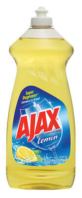 Ajax  Lemon Scent Liquid  Dish Soap  28 oz.