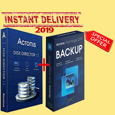 Acronis Disk Director 12 +🔥True image 2019 Gift📦Lifetime key 🔐Fast Delivery📩