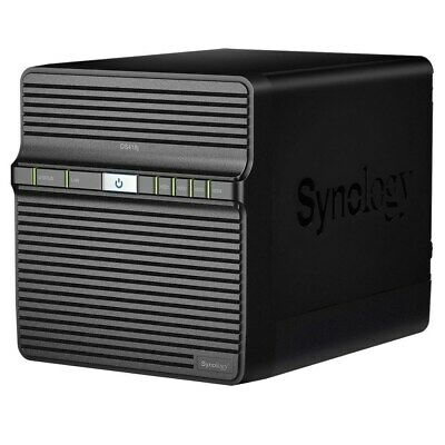 Synology DiskStation DS418j 4-Bay Desktop NAS Enclosure