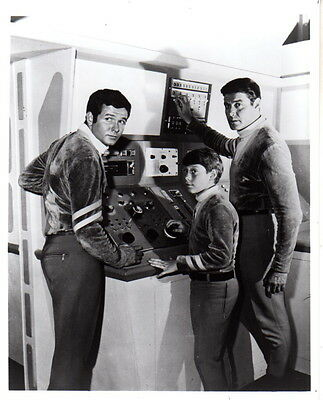 Guy Williams Mark Goddard Billy Mumy Lost in Space 8x10 photo N9523