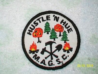 HUSTLE 'N HUE M.A.G.S.C. - NJ Girl Scout Embroidered Patch Applique