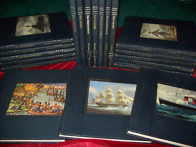 Vintage Lot Complete 22 Volumes The Seafarers Time Life Padded HB 1981 +