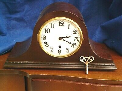 Duel chime Clock - Whittington and Westminster - Serviced and Working order