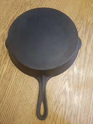National Frying Pan 8 Star Mark Cast Iron Vintage Antique Cookware