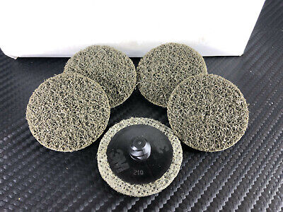 "(5) 3M SCOTCH BRITE ROLOC DISCS - 1-1/2"" S SFN 048011-08767 Surface Conditioning"