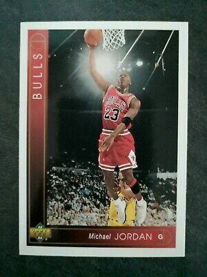 Carte Michael Jordan - NBA Chicago Bulls