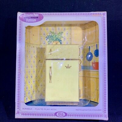 Ideal Princess Patti REFRIGERATOR FREEZER in BOX #9 of 16 Vintage Dollhouse 1:16